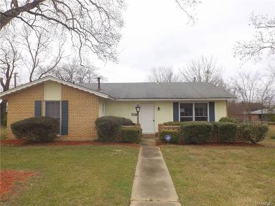 Montgomery Single Family Home For Sale: 5321 Ira Lane