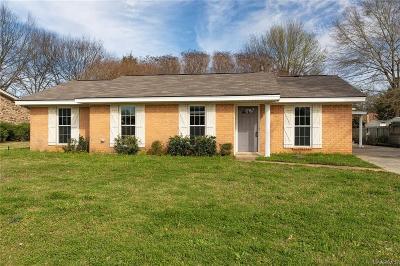 Prattville Single Family Home For Sale: 324 Sheila Boulevard