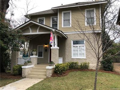 Garden District Single Family Home For Sale: 1333 S Perry Street