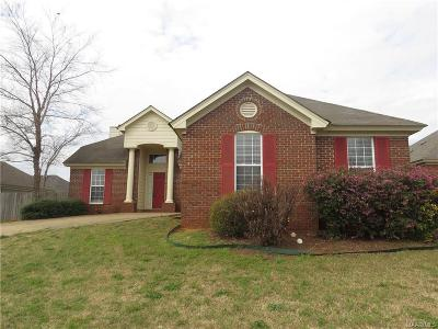 Prattville Single Family Home For Sale: 1911 Dundee Drive