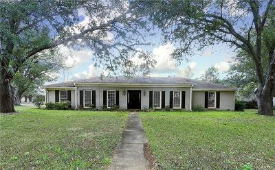 McGehee Estates Single Family Home For Sale: 2443 Belcher Drive