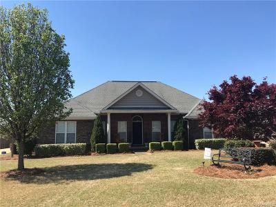 Wetumpka Single Family Home For Sale: 140 Granite Way
