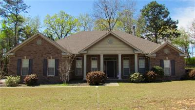 Wetumpka Single Family Home For Sale: 156 Mulder Cove Lane