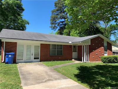 Prattville Rental For Rent: 601 Walker Street