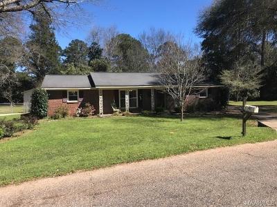 Selma Single Family Home For Sale: 308 Boykin Circle