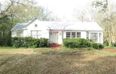 Montgomery Single Family Home For Sale: 2553 McGehee Road
