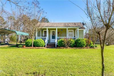 Wetumpka Single Family Home For Sale: 3608 Pleasant Hill Road