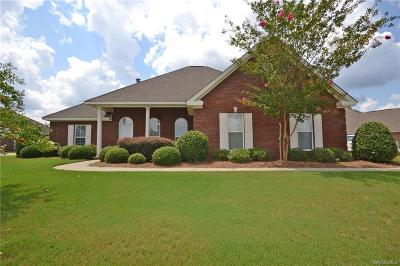 Wetumpka Single Family Home For Sale: 226 Inverness Road