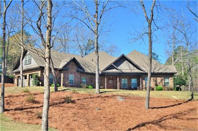 Wetumpka Single Family Home For Sale: 155 Hermitage Pass