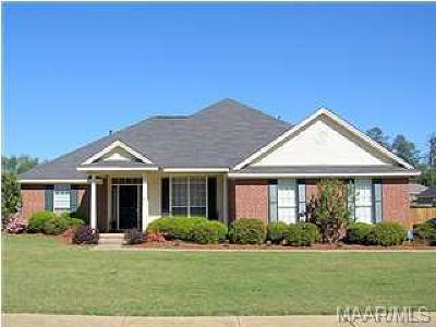 Prattville Single Family Home For Sale: 1280 Cross Creek