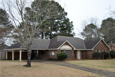 Prattville Single Family Home For Sale: 1216 Yorkshire Drive