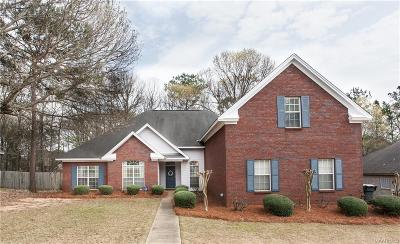 Wetumpka Single Family Home For Sale: 297 Hickory Place
