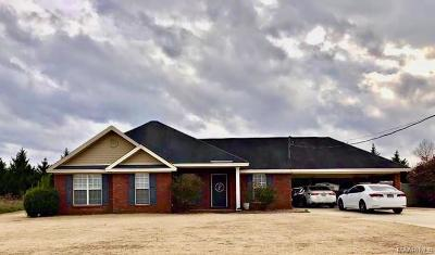 Wetumpka Single Family Home For Sale: 98 Flatwood Road