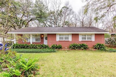 Prattville AL Single Family Home For Sale: $132,400