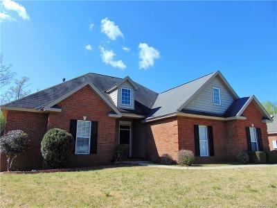 Prattville Single Family Home For Sale: 137 Live Oak Drive