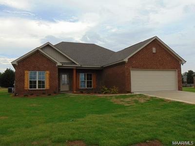 Prattville AL Single Family Home For Sale: $205,000