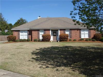 Montgomery Single Family Home For Sale: 8619 Old Savannah Lane