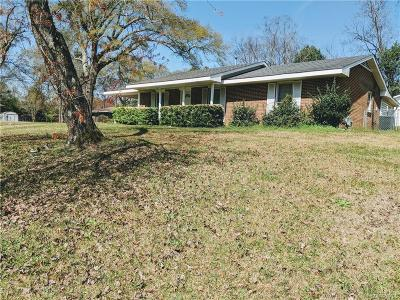 Prattville AL Single Family Home For Sale: $125,000
