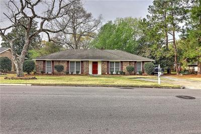 Montgomery Single Family Home For Sale: 3412 Fernway Drive