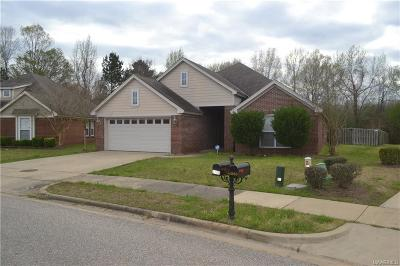 Montgomery Single Family Home For Sale: 3700 Claiborne Circle