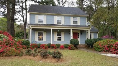 Montgomery Single Family Home For Sale: 4001 Ray Drive