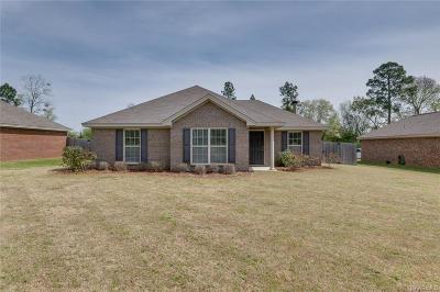 Prattville AL Single Family Home For Sale: $156,900