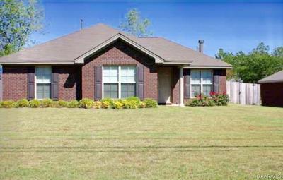 Prattville Single Family Home For Sale: 1410 Upper Kingston Road