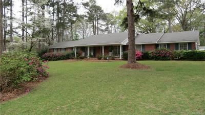 Wetumpka Single Family Home For Sale: 405 Blue Ridge Road