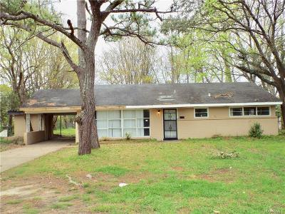 Montgomery Single Family Home For Sale: 3615 Norman Bridge Road