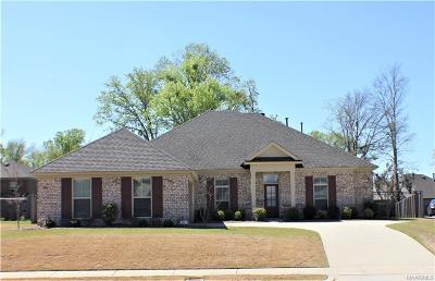 Montgomery Single Family Home For Sale: 7918 Oak Crest Place