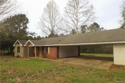 Prattville Single Family Home For Sale: 2534 Sanders Road