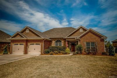 Prattville Single Family Home For Sale: 1209 Caliber Crossing