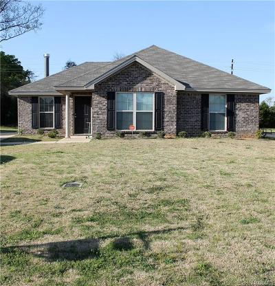 Wetumpka Single Family Home For Sale: 60 High Cotton Court