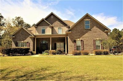 Deatsville Single Family Home For Sale: 2650 Hannah Drive