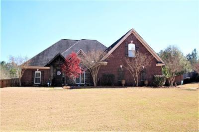 Wetumpka Single Family Home For Sale: 165 Timber Ridge