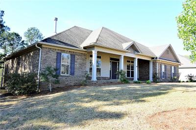Wetumpka Single Family Home For Sale: 79 Mulder Cove Lane