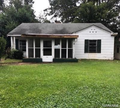 Montgomery Single Family Home For Sale: 2315 Poplar Street