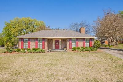 Montgomery AL Single Family Home For Sale: $154,900