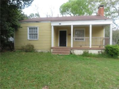 Montgomery Single Family Home For Sale: 2311 E 6th Street