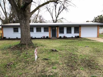 Prattville Single Family Home For Sale: 1170 Josephine Avenue