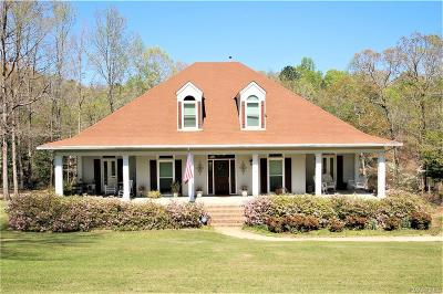 Wetumpka Single Family Home For Sale: 37 Olympic Drive