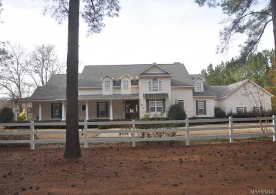 Tallassee Single Family Home For Sale: 3859 Cherokee Trail