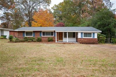 Montgomery Single Family Home For Sale: 906 Hillman Street