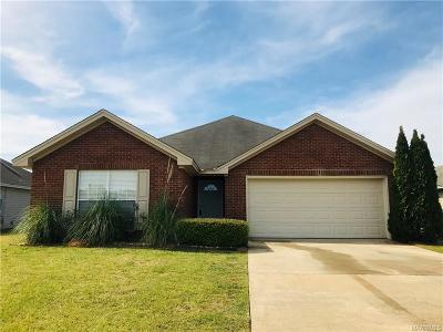 Wetumpka Single Family Home For Sale: 545 McDonald Drive