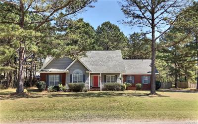 Wetumpka Single Family Home For Sale: 354 Bowen Bend