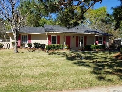 Montgomery AL Single Family Home For Sale: $134,000