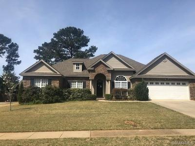 Prattville Single Family Home For Sale: 1129 Parkview Drive