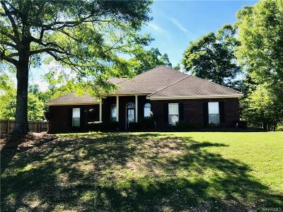Deatsville Single Family Home For Sale: 254 Debbie Drive