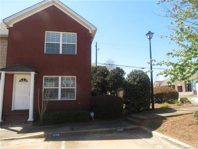 Prattville Condo/Townhouse For Sale: 1808 Station Drive