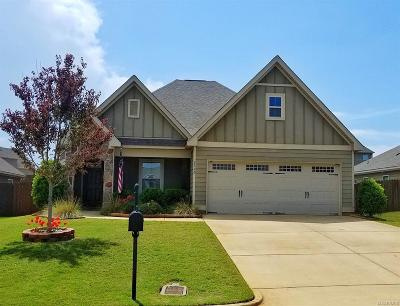 Prattville Single Family Home For Sale: 2160 Addison Way